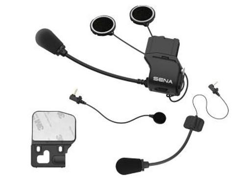 20S Universal helmet clamp kit with microphones