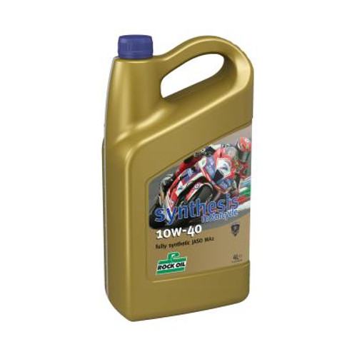 Rock Oil Synthesis Motorcycle 10W40 (4 L.)