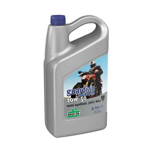 Rock Oil Guardian Motorcycle 10W50 (4 L.)