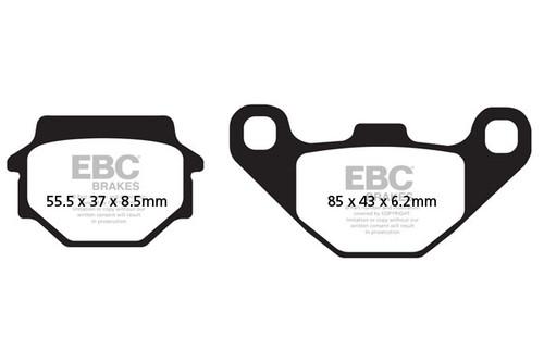 Спирачни Накладки EBC FA067/2 / EBC Brake Pads FA067/2