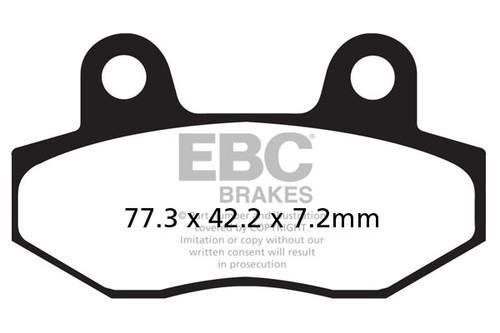 Спирачни Накладки EBC FA086 / EBC Brake Pads FA086