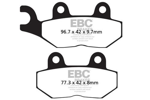 Спирачни Накладки EBC FA214/2 / EBC Brake Pads FA214/2
