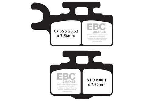 Спирачни Накладки EBC FA302TT / EBC Brake Pads FA302TT