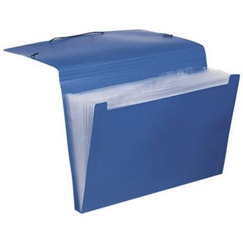 Marbig Polypropylene Expanding File Blue