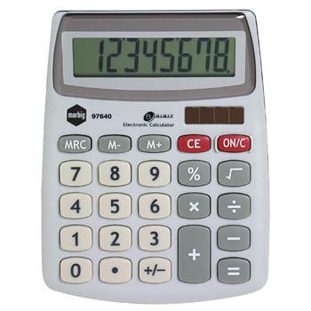 Marbig Desk Top Compact Calculator 8 Digit