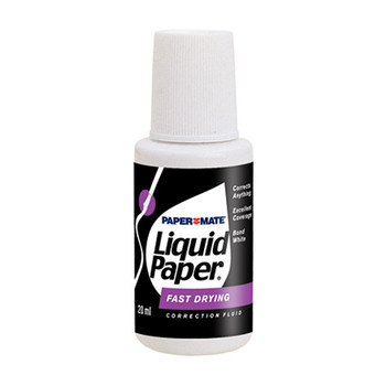 Liquid Paper Bond White Correction Fluid 20ml