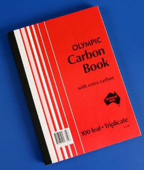 Olympic Carbon Book A4 Trip 100LF #603