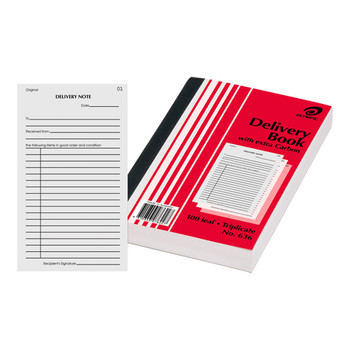 Olympic Delivery Book Carbon Triplicate #636