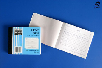 Olympic Order Book 100x125mm Duplicate #640