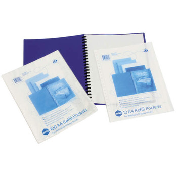 Marbig 2008000 Display Book Refills A4 PK10