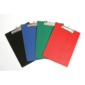 Marbig PVC Clipboards Foolscap Black Office Group