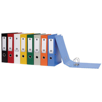 Marbig Lever Arch File A4 PVC Assorted Colour