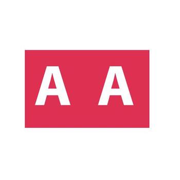 Avery Colour Coding Label A 180 Labels 43301