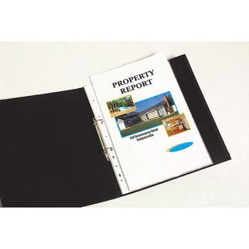 Marbig A4 Sheet Protectors Lightweight Box 100