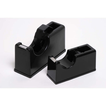 Marbig Tape Dispenser Large Black For 66m Tapes