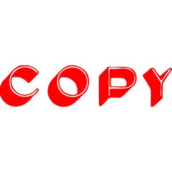 Xstamper 1336 Copy Stamp Red