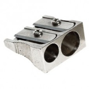 Office Group Pencil Sharpener Metal 2 Hole