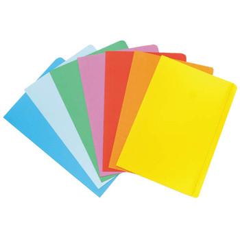 Marbig Manilla Folder Foolscap Blue Pack 20