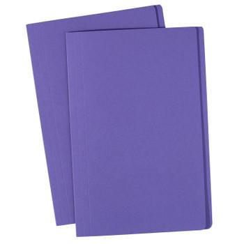 Avery 81592 Manilla Folders Foolscap Purple 100 Pack