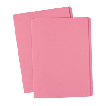 Avery 81552 Manilla Folders Foolscap Pink 100 Pack
