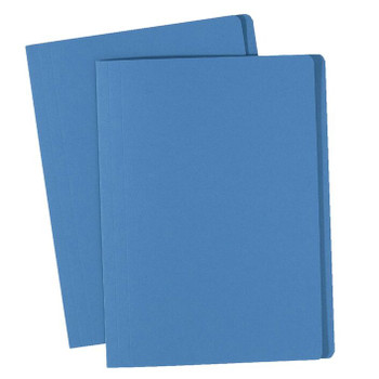 Avery 81522 Manilla Folders Foolscap Blue 100 Pack