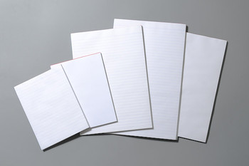 Office Note Pads White A4 Ruled PK10