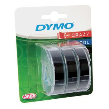 Dymo Embossing Tape Black Pk/3 SD0847730