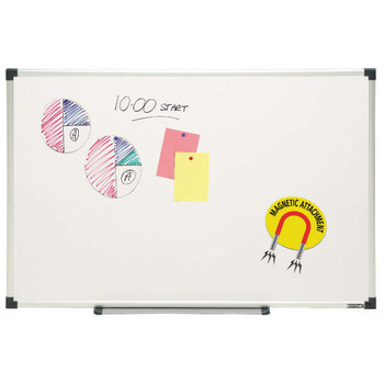 Nobo Alum Frame Magnetic Whiteboard 900 x 1200mm B290120