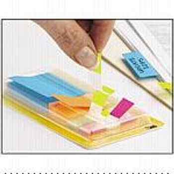 3M Post-it Pop Up Page Markers 672-C1 Assorted & Mini Flags