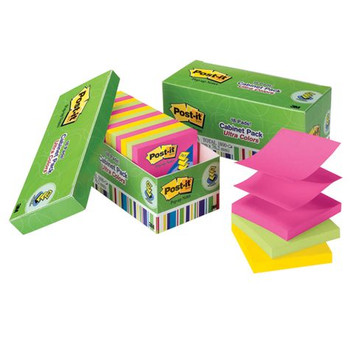 Post-it R330-18AUCP Ultra Colours Pop-Up Notes Cabinet Pack