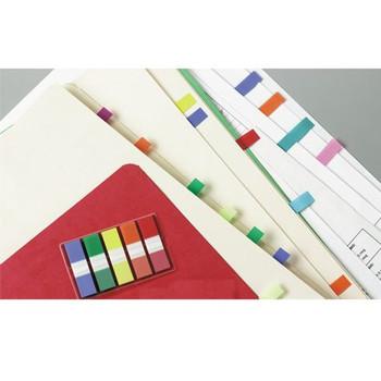 3M 683-5CF Post-it Mini Flags 5 Assorted Standard Colours