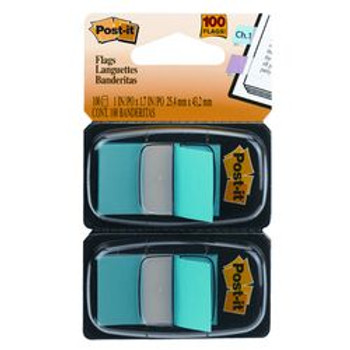 Post-it 680-BB2 Flags Bright Blue Twin Pack