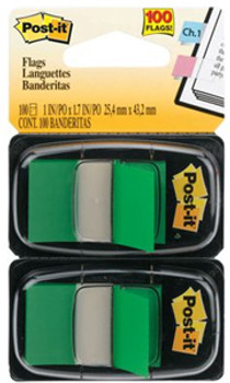 Post-it Flags 680-GN2 Green Twin Pack