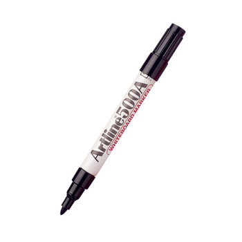 Artline 500A Whiteboard Marker Black