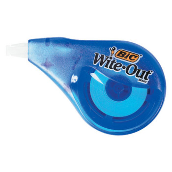 Bic Wite-Out Correction Tape 4mm x 12m
