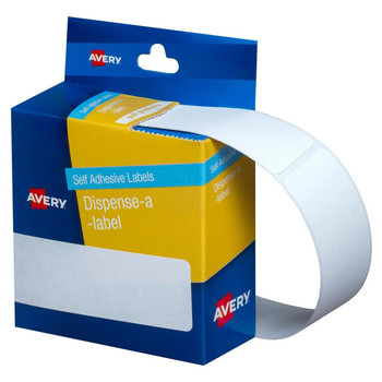 Avery Dispenser Labels White Rectangle 101 x 24 mm 160/Pack
