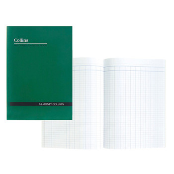 Collins A60 Analysis Book 12 Money Column A4