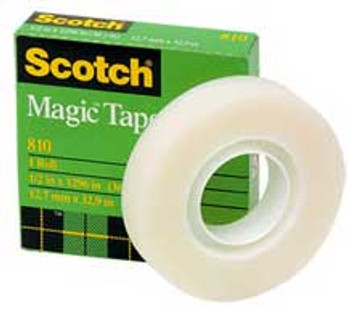 Scotch 810 Magic Invisible Tape 12mm x 33m