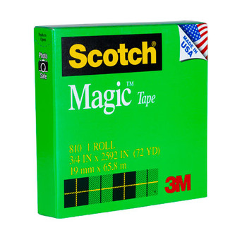 Scotch 810 Scotch Magic Invisible Tape 19mm x 66m