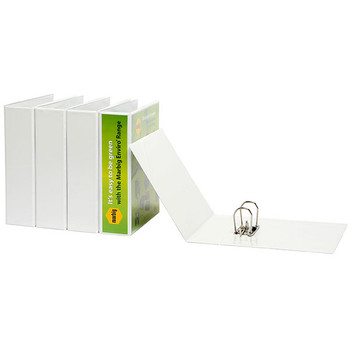 Marbig Enviro Insert Lever Arch File A4 White 6405008