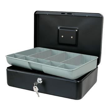 Esselte Classic Cash Box No.12 Black