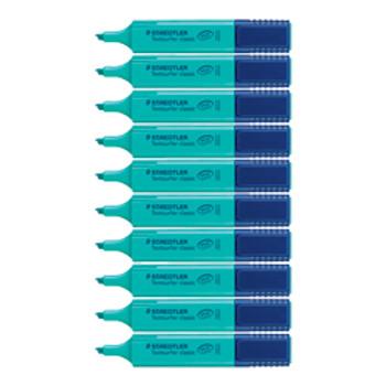 Staedtler Textsurfer Highlighter Turquoise 10/PK