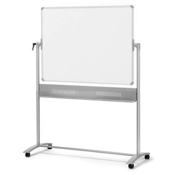 Nobo Mobile Reversible Magnetic Whiteboards 1500 x 1200mm 1901031