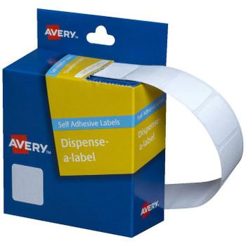 Avery Dispenser Labels White Square 19 x 19 mm 900/Pack