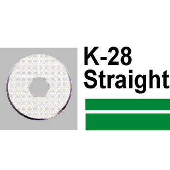 Carl Replacement Trimmer Blade K28 Straight
