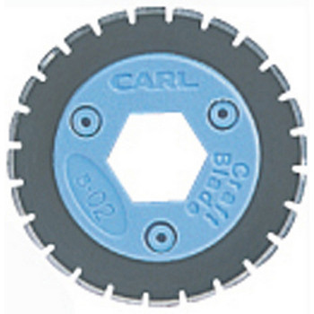 Carl Replacement Trimmer Blade B02 Perforating