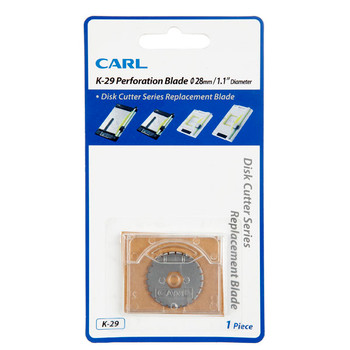 Carl Replacement Trimmer Blade K29 Perforating