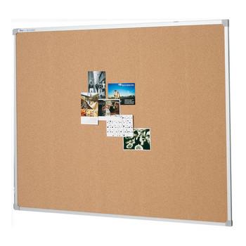 Penrite Aluminium Frame Corkboard 1500 x 900mm