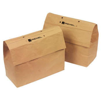Rexel Auto+100 Recyclable Shredder Paper Bags PK20 2102577