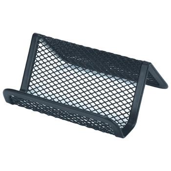 Esselte 47548 Mesh Business Card Holder Black